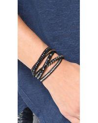 Chan Luu | Black Wrap It Up Bracelet | Lyst