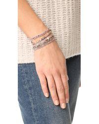 Chan Luu - Multicolor Adjustable Multi Strand Bracelet - Lyst