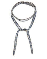 Chan Luu - Multicolor Printed Convertible Wrap Bracelet - Lyst