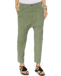 Citizens of Humanity | Green Premium Vintage Surplus Sadie Utility Pants | Lyst