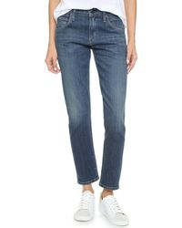 Citizens of Humanity | Blue Emerson Slim Boyfriend Ankle Jeans | Lyst