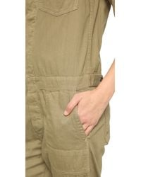 Citizens of Humanity - Green Tallulah Jumpsuit - Lyst