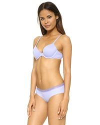 Calvin Klein - Multicolor Perfectly Fit Memory Touch T-shirt Bra - Lyst