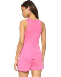 Calvin Klein - Pink Liquid Luxe Tank Top - Lyst