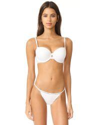 Calvin Klein | White Calvin Klein Id Demi Push Up Bra | Lyst