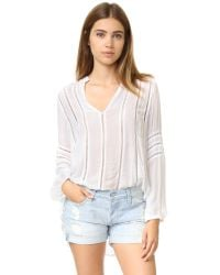 Chloe Oliver | White Viva La Long Sleeve Top | Lyst