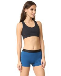 Commando - Black Compression Sports Bra - Lyst