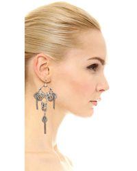 DANNIJO | Metallic Zaniah Earrings | Lyst