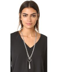 DANNIJO - Metallic Harper Necklace - Lyst