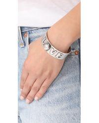 DANNIJO - Metallic Charity Bracelet - Lyst