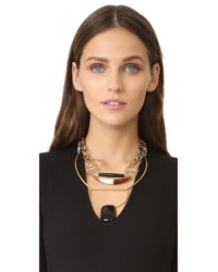 David Aubrey - Metallic Genesis Necklace - Lyst