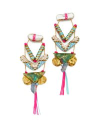 Deepa Gurnani | Pink Lavina Earrings | Lyst
