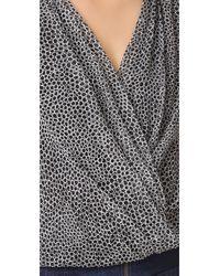 Diane von Furstenberg   Black Shirt   Lyst