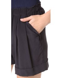 DKNY | Black Pure Pull On Shorts | Lyst