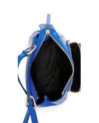 DKNY - Blue Bryant Park Mini Top Handle Bag - Lyst