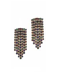 Erickson Beamon - Multicolor Hyperdrive Waterfall Earrings - Lyst
