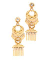 Elizabeth Cole | Metallic Kalua Earrings | Lyst
