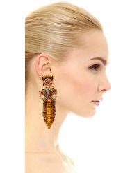 Elizabeth Cole - Multicolor Lola Earrings - Lyst