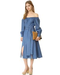 Elle Sasson Blue Leandra Dress