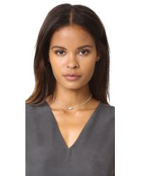 Ela Rae | Multicolor Libi Petite Necklace | Lyst