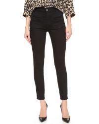 Equipment - Black Kate Moss Warren Skinny Jeans - Lyst