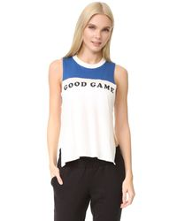 Free People | Blue Movement Good Game Tank | Lyst