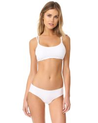 Free People | White Melt With You Seamless Bra | Lyst