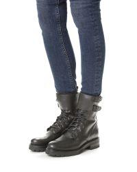 Frye - Black Julie Shield Boots - Lyst