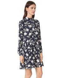 Ganni - Multicolor Maxwell Dress - Lyst