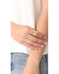 Gas Bijoux - Metallic Cancun Ring - Lyst