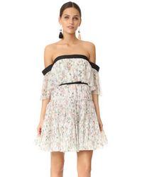 Giambattista Valli - White Ruffled Dress - Lyst