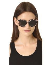 Gentle Monster - Gray Vanilla Road Sunglasses - Lyst