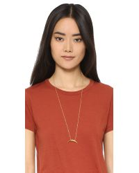 Gorjana | Metallic Cayne Pendant Necklace | Lyst