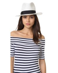 Hat Attack - White Original Panama Fedora - Lyst