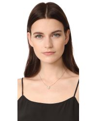 Jacquie Aiche - Metallic Hamsa Hand Diamond Necklace - Lyst