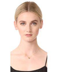 Jacquie Aiche - Metallic Eye Necklace - Lyst