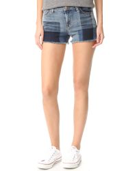 J Brand | Multicolor 1044 Mid Rise Shorts | Lyst