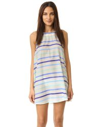 kate spade new york - Blue Provincetown Cover Up Dress - Lyst