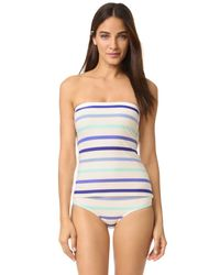 kate spade new york - Blue Provincetown Tank Bikini Top - Lyst