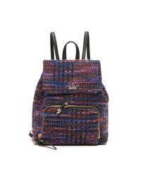Kate Spade | Blue Jessa Tweed Backpack | Lyst