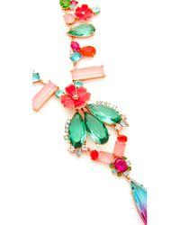 Kate Spade | Multicolor Garden Party Statement Necklace | Lyst