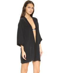 Kiki de Montparnasse - Black Perfect Robe - Lyst