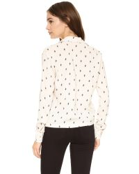 Knot Sisters - White Cactus Top - Lyst