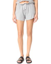 Knot Sisters - Gray Highland Shorts - Lyst