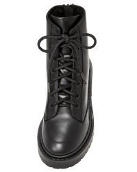 KENZO - Black Pike Shearling Lined Boots - Lyst