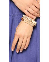 Lacey Ryan - Natural Yellow Triple Bracelet Set - Lyst