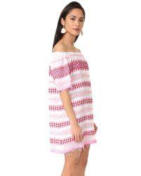 Lemlem - Pink Tabtab Off Shoulder Dress - Lyst