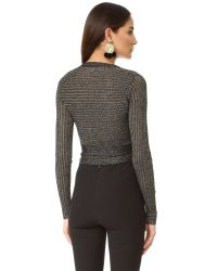 Lovers + Friends   Black Ballet Sweater   Lyst