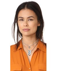 Lulu Frost - Metallic Lola Pendant Necklace - Lyst