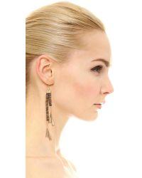 Lulu Frost - Metallic Fontana Earrings - Lyst